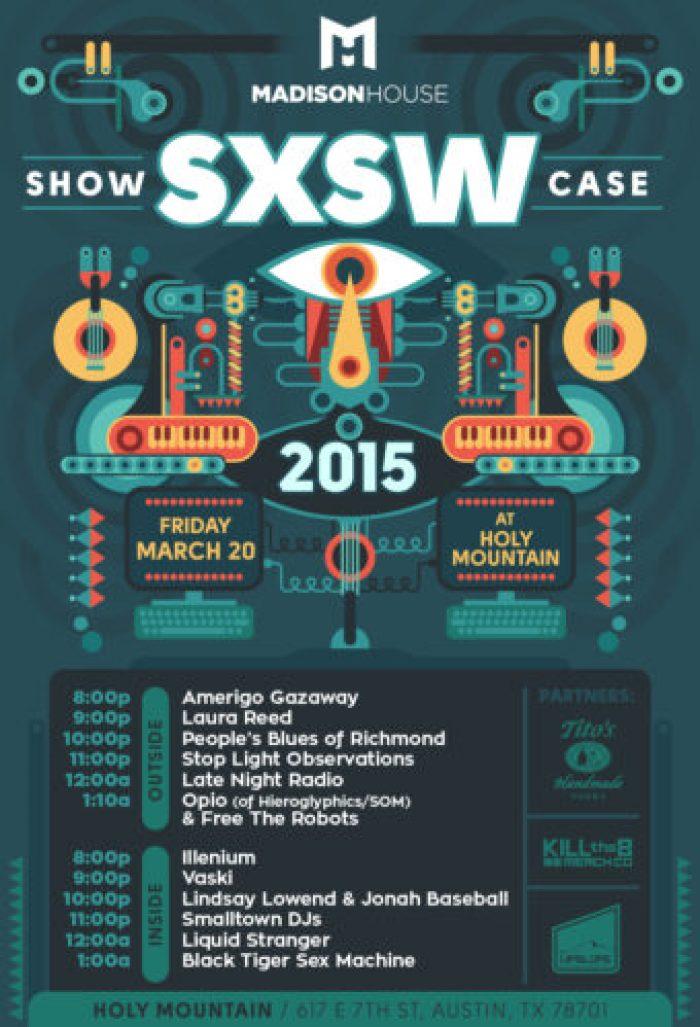 Madison House Showcase SXSW 2015