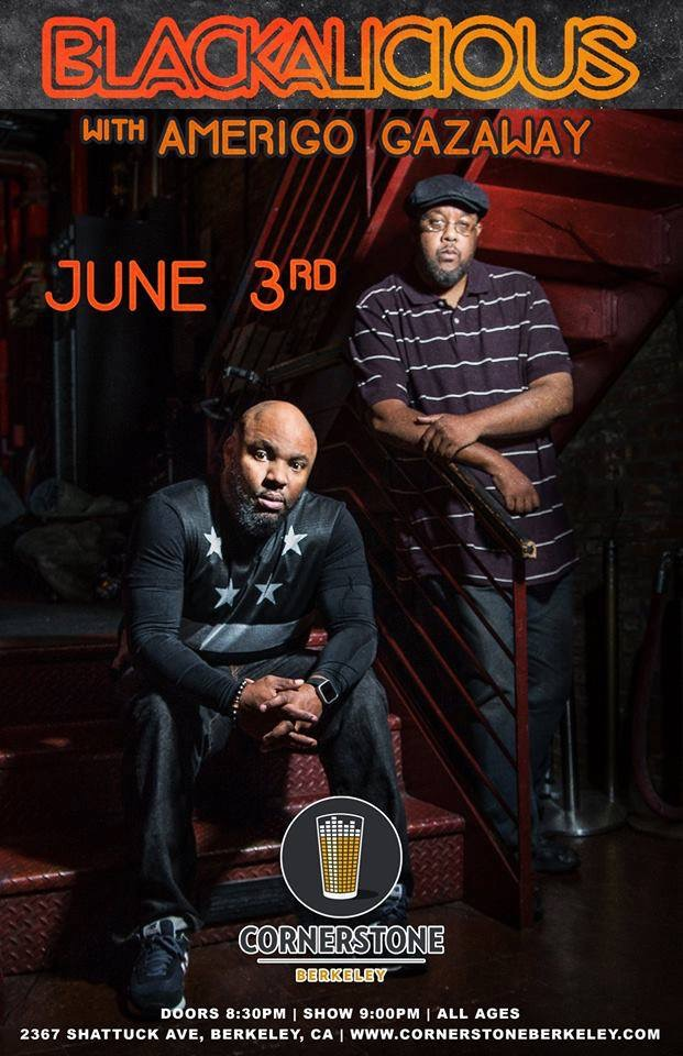 Blackalicious with Amerigo Gazaway