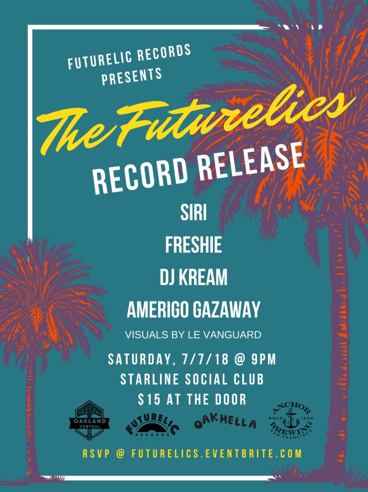 "The Futurelics ""Classic EP"" Release Party"