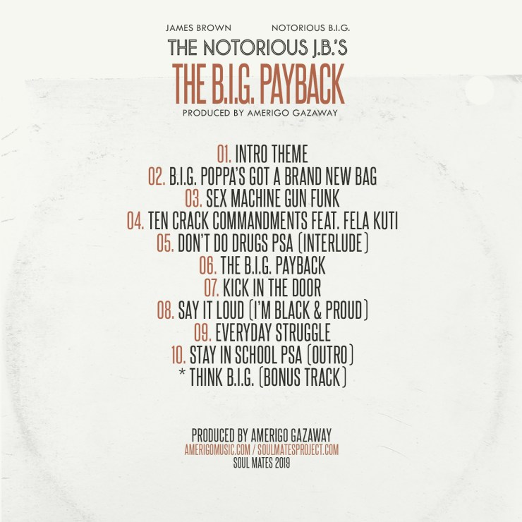 The Notorious B.I.G. x James Brown - The Notorious J.B.'s: The B.I.G. Payback