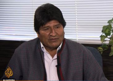 Evo Morales im Interview mit der BBC und Al Jazeerah zur Lage in Bolivien