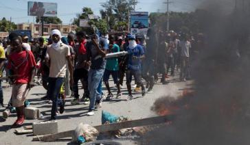 Seit Wochen protestieren große Teile der Bevölkerung Haitis fast täglich gegen die Regierung