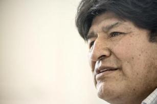 """Evo Morales beim Gespräch mit """"Brecha"""" im seinem argentinischen Exil"""