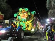 Mardi Gras parade krewe of Orpheus 2016