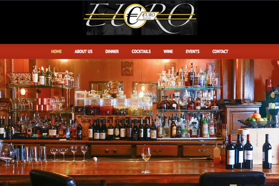 Website Launch: Euro Wine Bar
