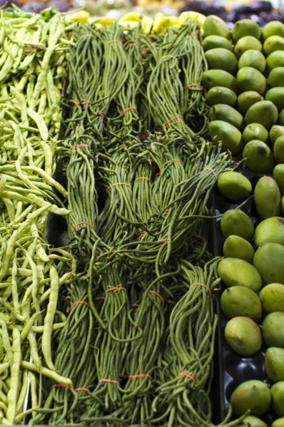 Yardlong Beans by Paul Goyette
