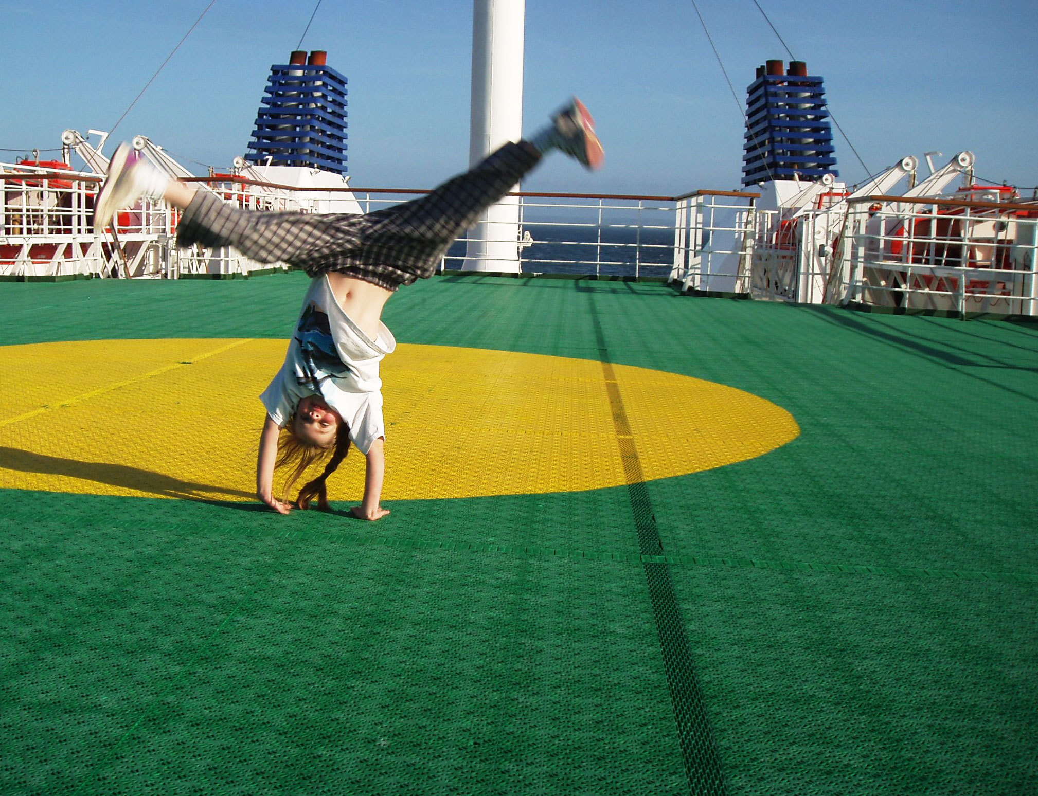 ferry cartwheel