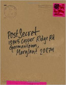 postsecret book - extraordinary confessions from ordinary lives