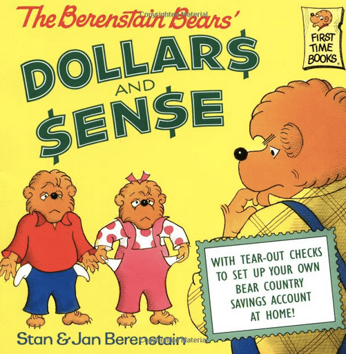 books about money for kids and toddlers and babies