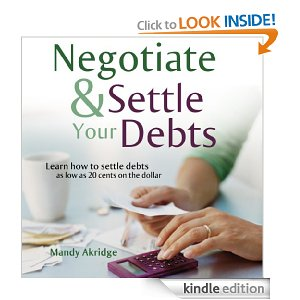 book you need to read when you are in debt - negotiate and settle your debts