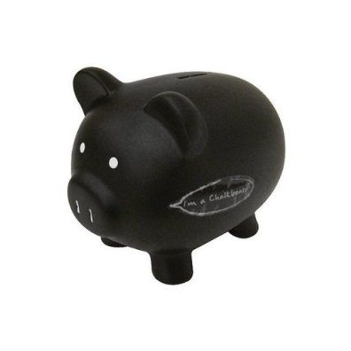chalkboard piggy bank