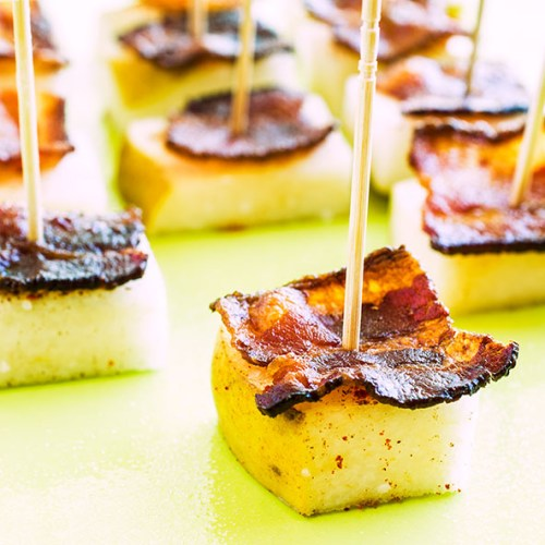 Pear and Bacon Bite Appetizers - Whole 30 Thanksgiving Recipes