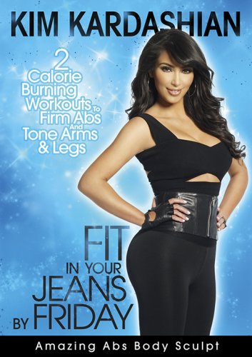 kim kardashian workout amazing abs