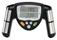 measure body fat percentage with body fat monitor