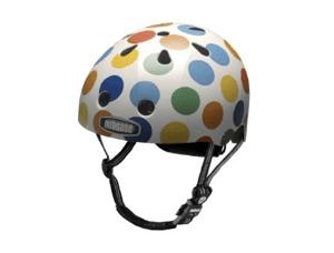 Cool bike helmet dots nutcase