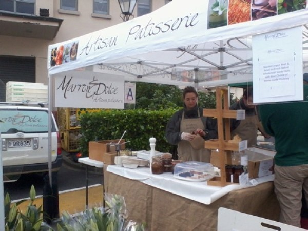 Parnell farmers market booth