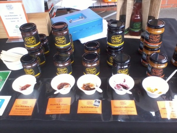 Parnell farmers market relish the thought