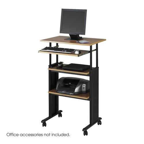 standing desk - safco muv stand-up adjustable desk