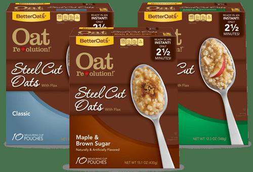 oat revolution steel cut oats