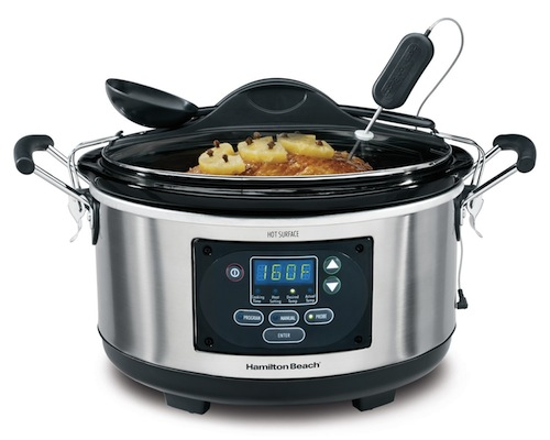 hamilton beach slow cooker crockpot