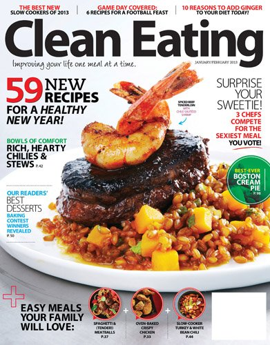 favorite healthy magazine - clean eating magazine