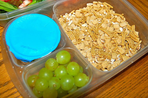 easy lunchbox meal sereal