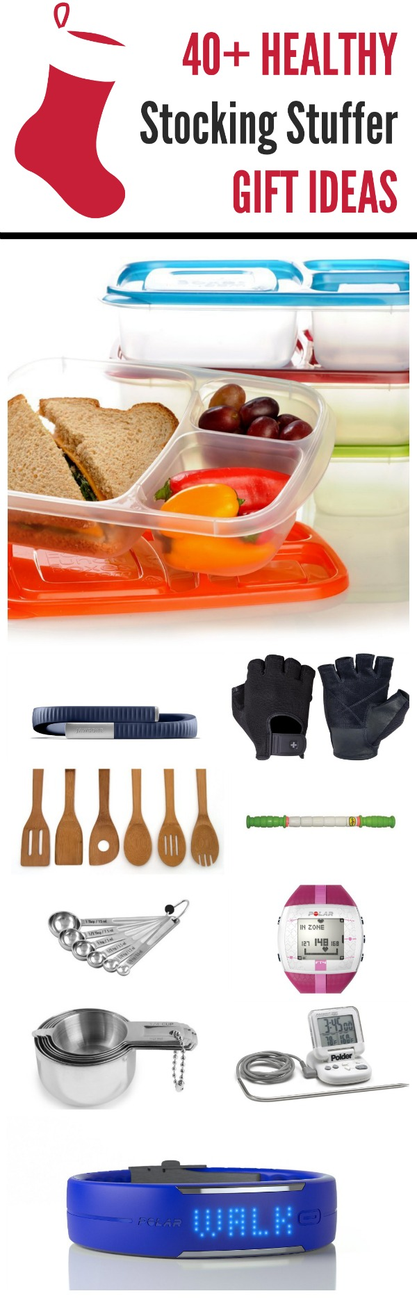 40 + healthy stocking stuffer gift ideas
