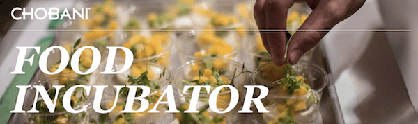 chobani food incubator
