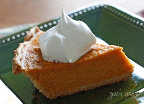sweet potato pie - healthy thanksgiving dessert recipes