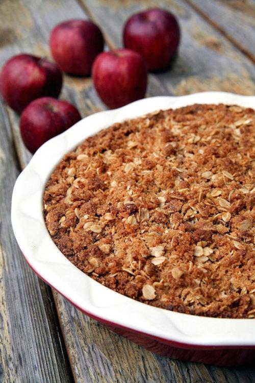 vegan apple pie - healthy thanksgiving dessert