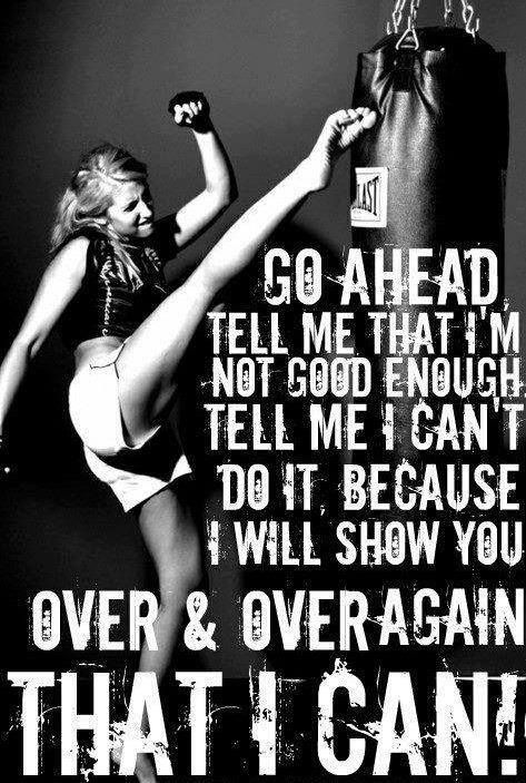 fitness motivation quote -  i can