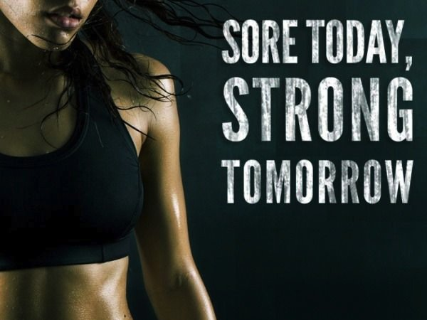 fitness motivation quote - strong tomorrow