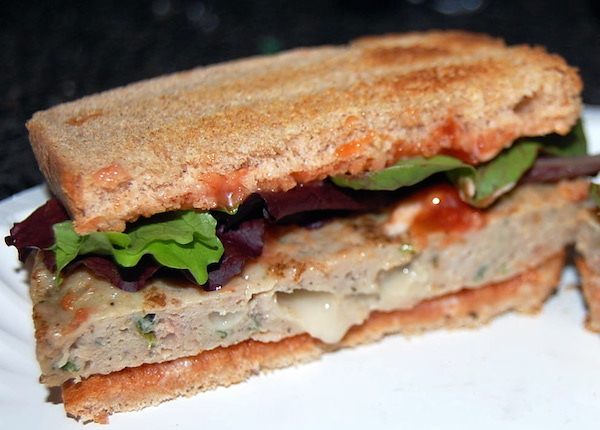 kale mozzarella chicken burger by amylu review sandwich