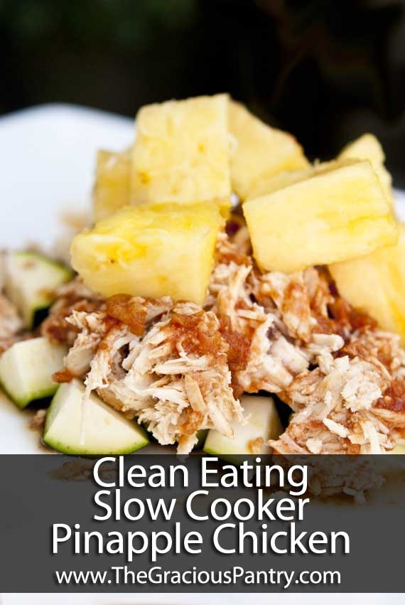 advocare 24 day challenge recipe - slow cooker pineapple chicken