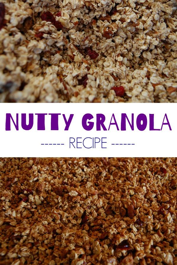 nutty granola recipe