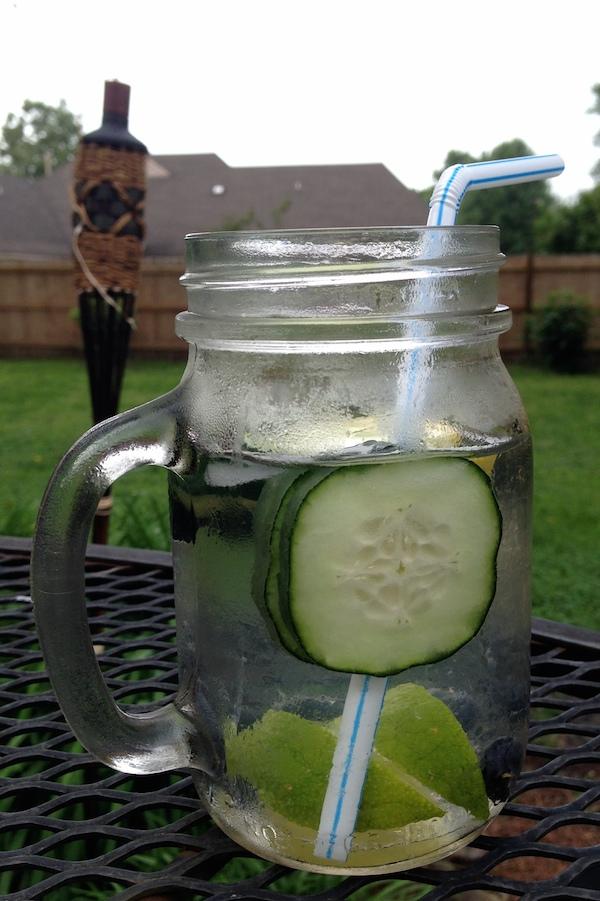 cucumber lime detox water recipe