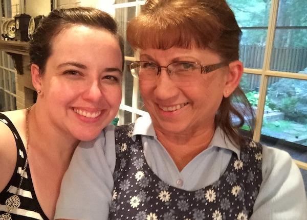mary and mom