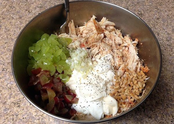 skinny chicken salad recipe - amerrylife.com