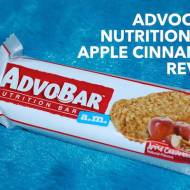 AdvoCare Nutrition Bar Apple Cinnamon Flavor Review