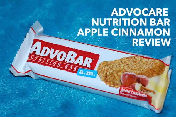AdvoCare Nutrition Bar Review Apple Cinnamon Flavor