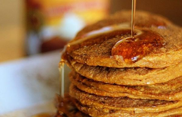 Pumpkin-Spice-Protein-Pancakes