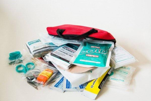 apartment essentials - first aid kit be prepared