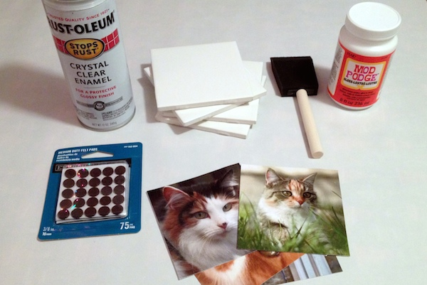 diy coaster project step supplies