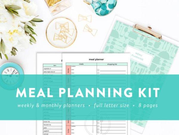 Meal : Menu Planning Kit