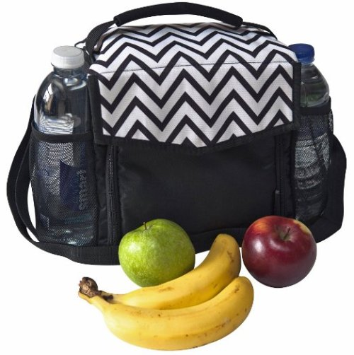 cool adult lunchbox - Freddie and Sebbie Lunch Bag, Fashionable Insulated and Reusable
