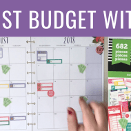 August 2018 Budget With Me + Why I'm Budgeting Online