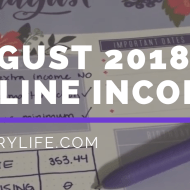August Online Income Report | Rebuilding Online Income – Update 2