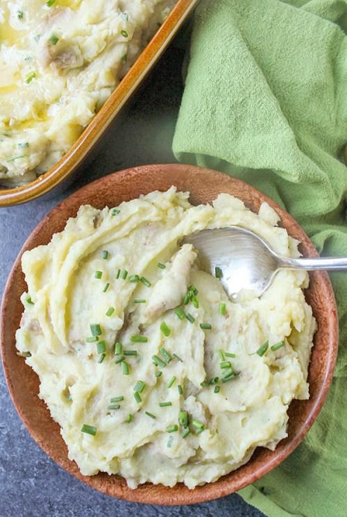 Paleo Whole30 Mashed Potatoes - Whole 30 Thanksgiving Recipes