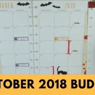 October 2018 Budget With Me