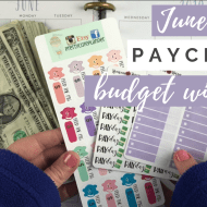 June Budget & Cash Envelopes